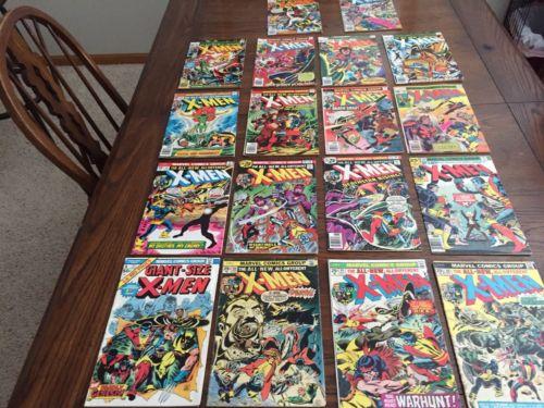 Giant Size X-Men 1, Uncanny X-Men 94-110