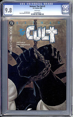 Batman: The Cult #2 CGC Graded 9.8 Wrightson DC Comics 1988