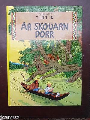 Tintin  -  L'oreille cassée en breton  - 1991 - AN HERE  -   NEUF