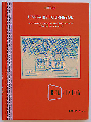 L/'Affaire Tournesol Original Tintin Affiche Le Calcul /'Affair/' Rare