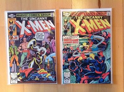 The Uncanny X-Men # 132 and 133 Featuring Wolverine / Marvel / 1980