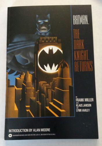 DC Batman: The Dark Knight Returns Original Trade TPB First Print 1986 Miller