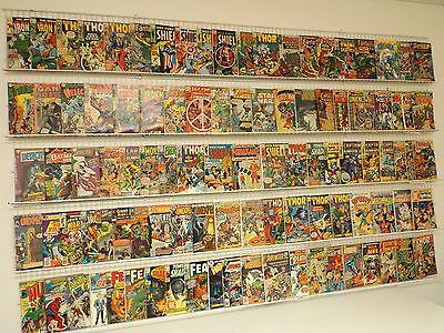 Lot of 100 Silver & Bronze comics Captain America, Thor, Iron Man & more