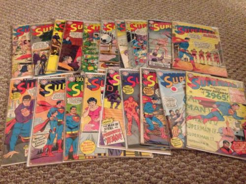 Silver Superman Lot 153 155 160 163 164 166 176 177 179 180 181 184 189-194 196