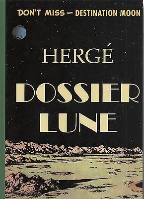 Dossier Lune. Hergé. Tintin. Destination Moon. Tirage limité 2013. Neuf
