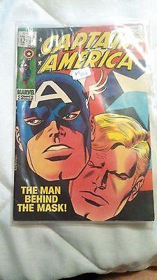Comics-- Captain America Issues 114,115,116,117,118,119,120,121,122,123  1968,69