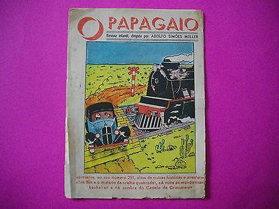 Tintin - L'Oreille Cassee - O Papagaio #281 - 1940