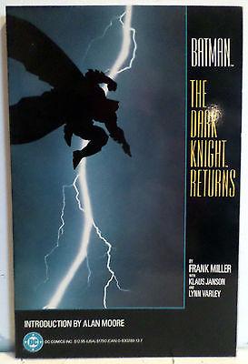 Batman: The Dark Knight Returns 1st Print Copper Age DC Comic Book TPB 1986 NM
