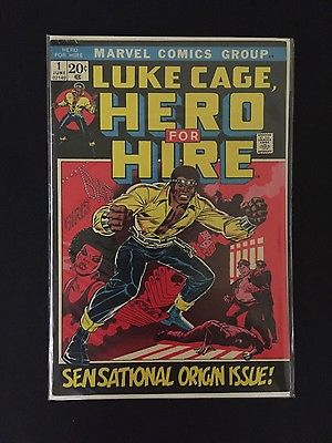 Luke Cage - Hero for Hire #1 (Marvel Comics Origin Issue) 8.0 VF