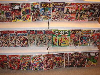 Silver Bronze Comic Collection 100% MARVEL FF 48 GS Xmen Sub Iron Man 1 DD Lot