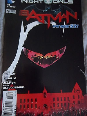 BATMAN #7 8 9 ANNUAL #1 NIGHT OF THE OWLS The New 52 Snyder Capullo Albuquerque