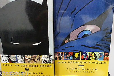 Batman The Dark Knight Returns Strikes Again TPB Lot Frank Miller