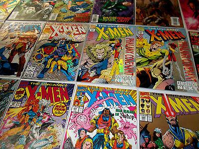 Uncanny X-Men huge VF/NM 135 book lot Bronze to Modern 103,110,122,136,138,143
