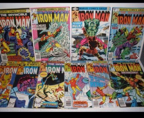 Iron Man #129,130,131,132,134,135,136,137,138,139