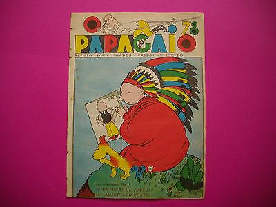 Tintin - Tintin en Amerique - O Papagaio #78 - 1936