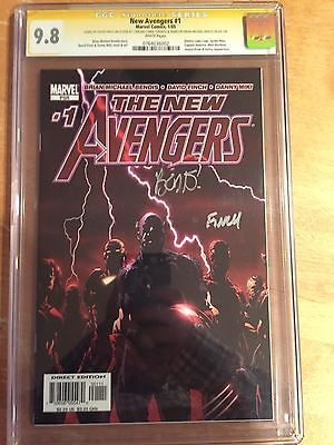 Avengers CGC SS 9.8 Lot featuring New Avengers 1 and JLA/Avengers #2 plus Thor