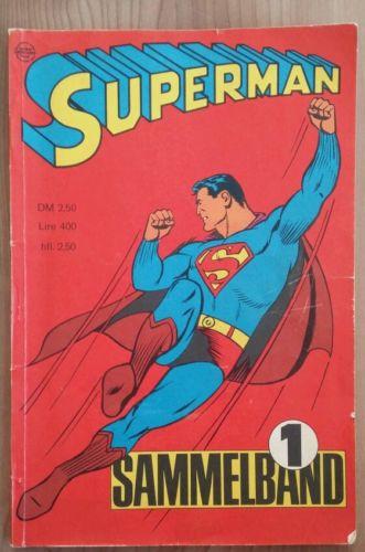 Superman Sammelband 1