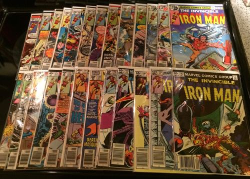 Iron Man Lot,1st Rhodes #'s 91,101,103,105-108,113-123,135,139,146,162,168-169