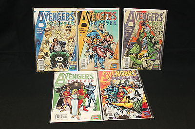 MARVEL AVENGERS 19 ISSUE COMIC LOT (AVENGERS, MIGHTY AVENGERS, AVENGERS FOREVER)
