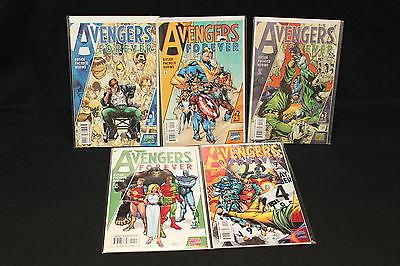 MARVEL AVENGERS 19 ISSUE COMIC LOT (AVENGERS, MIGHTY AVENGERS, AVENGERS FOREVER)