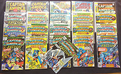 CAPTAIN AMERICA (1968--) - 118 Issues - Most NM - Bagged - 99p Start