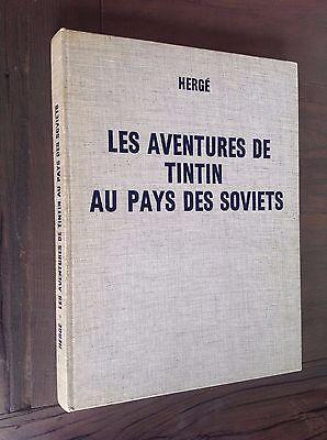 HERGE TINTIN au pays des soviets  dédicacé 1969