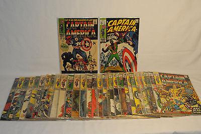 Captain America Comic Run Lot  #100-134  #100 ,#117, #118  ( 30 Total VG/VF )