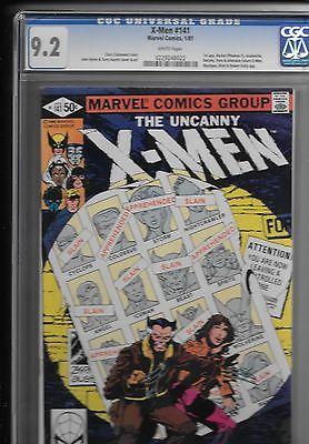 """Uncanny X-Men Lot of 8 """"BRONZE AGE"""" #110 - 141 VF/NM & CGC"""