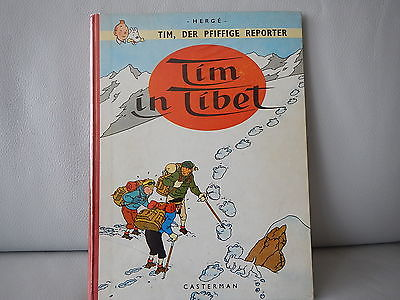 Tintin - Tim in Tibet - EO en allemand (1963) - TBE