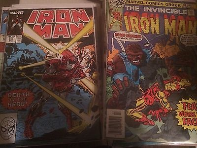 Huge Iron Man Vol.1 Lot of 55+ w/Issue #s 88-331, 120, 127, 150, Avengers
