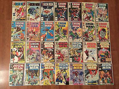 IRON MAN (1968, VOLUME ONE) #198-332 & MORE HIGH GRADE RUN/LOT OVER 120 COMICS