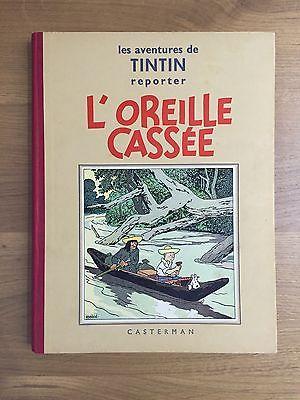 Herge Tintin L'Oreille Cassée A2 EO 1938 Casterman ETAT EXCEPTIONNEL RARE.