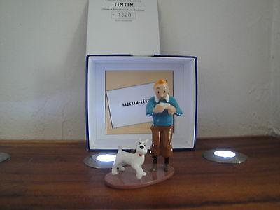 Tintin Hergé Carte de visite Le trésor de Rackham le Rouge  2005 Pixi 2500 ex