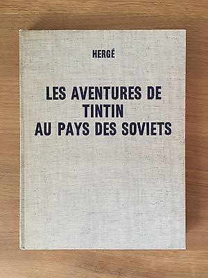 DEDICACE Herge Tintin au Pays des Soviets ED 1969 Tout Proche du NEUF.