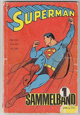 Superman Sammelband Nr. 1 (Hefte 1 - 4 / 1966 Ehapa Verlag)