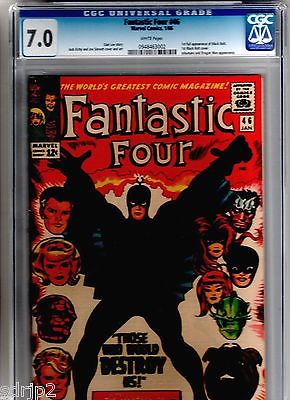 Fantastic Four #46 CGC 7.0 1st/FIRST FULL BLACK BOLT app & COVER INHUMANS MOVIE