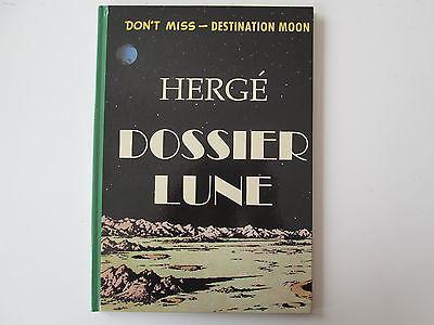 TINTIN HERGE DOSSIER LUNE DON'T MISS DESTINATION MOON NEUFCARTONNE COULEUR