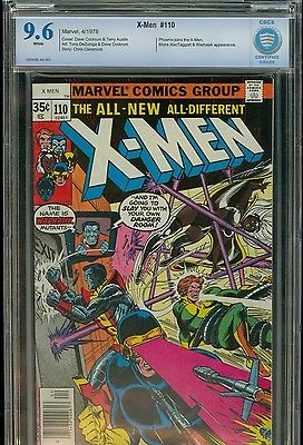 UNCANNY X-Men #110 -- CBCS 9.6 White Pages -- PHOENIX -- NOT PRESSED -- CGC