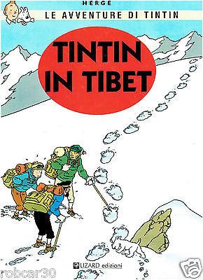 SCHLUMPF PITUFO COMIC ''TINTIN IN TIBET'' in  ITALIAN 1