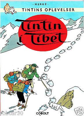 SCHLUMPF PITUFO COMIC ''TINTIN IN TIBET'' in DANISH 2