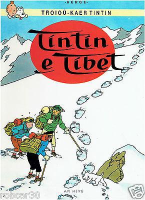 SCHLUMPF PITUFO COMIC ''TINTIN IN TIBET'' in BRETON 2