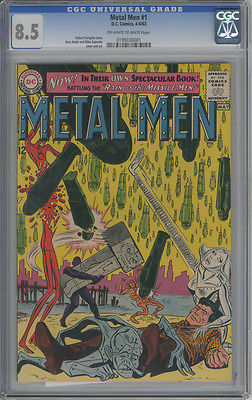 CGC METAL MEN #1 8.5