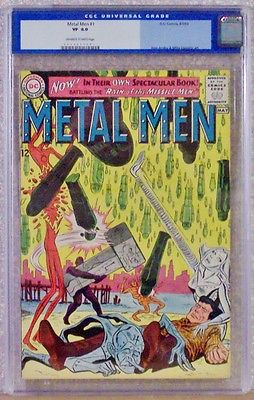 Metal Men #1  8.0, graded CGC, DC 1963