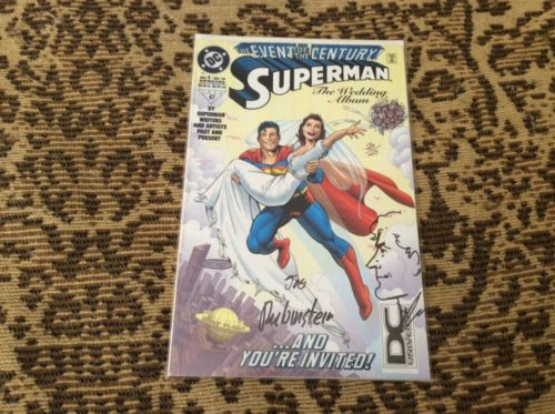 SUPERMAN: THE WEDDING ALBUM DYNAMIC FORCES EXCLSUIVE SIGNED AND REMARKED 26/40