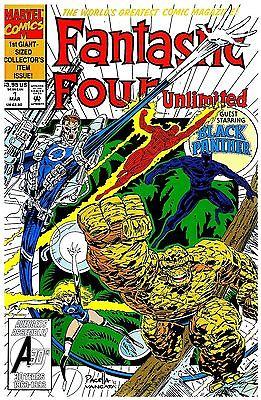 Fantastic Four Unlimited No.1-12 / 1993-1995 Roy Thomas & Herb Trimpe