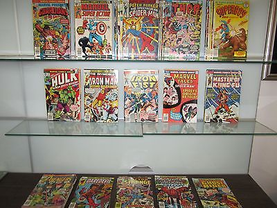 Huge Lot 120 Bronze Age Marvel DC Collection Avengers  Hulk Iron Man Thor JLA