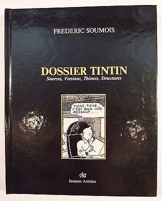 Dossier Tintin F. Soumois Ed. Jacques Antoine TBE