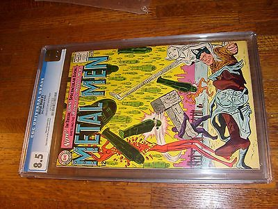 METAL MEN #1, 1963, CGC GRADED 8.5, vf+
