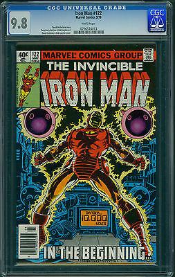 Iron Man # 122 (CGC 9.8, White Pages)