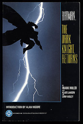 Batman: The Dark Knight Returns (1988) TPB 2nd Print Frank Miller VF/NM